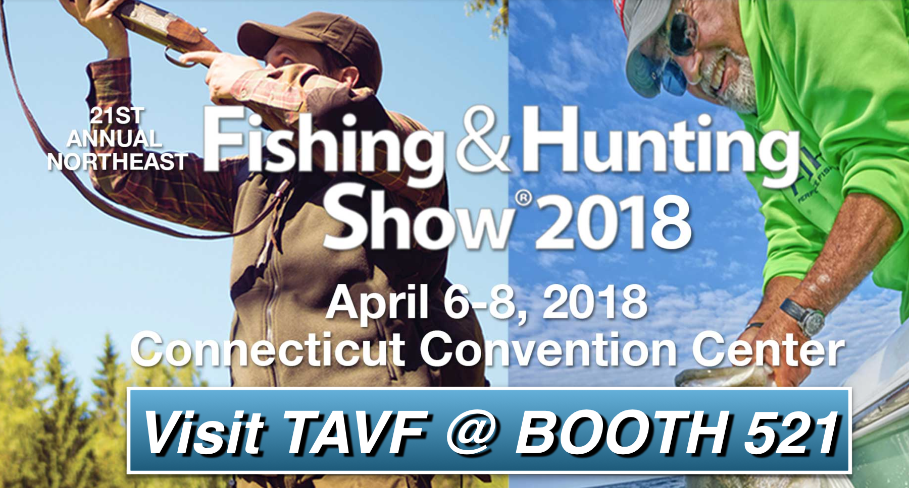2018 Fishing and Hunting Show TAVF Booth521 PNG